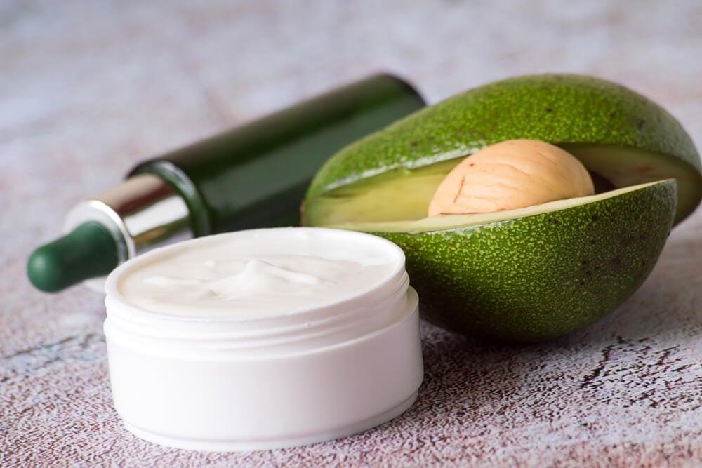 Ночной крем из авокадо