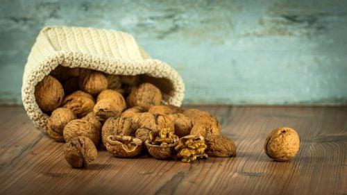 Грецкие орехи дарят хорошее настроение