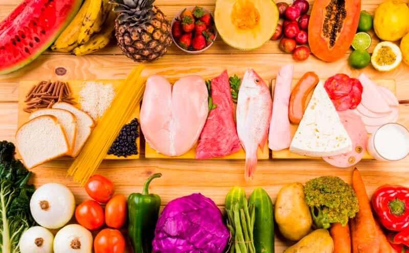 Правильное питание поможет освежитьлицо