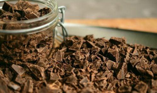 Шоколад дарит хорошее настроение