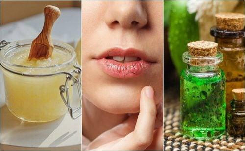 Сухие губы: натуральные средства для ухода