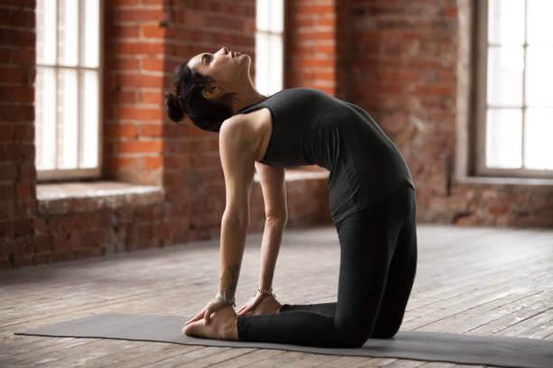 Устранить газы с помощью йоги