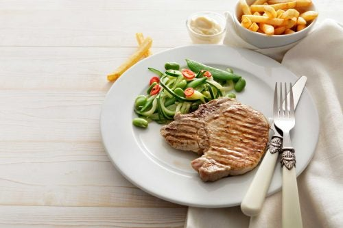 Ужин и лишний вес