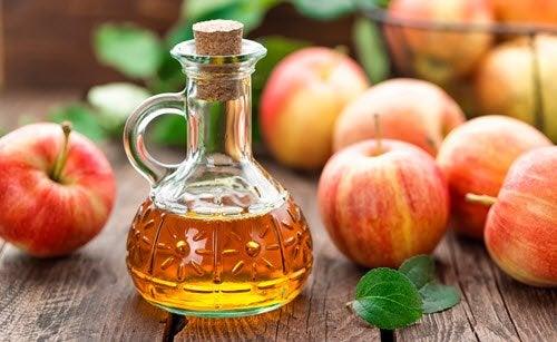 Яблочный уксус и здоровые блестящие волосы