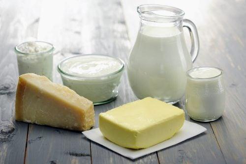 Молоко и молочные продукты и пример сочетаний продуктов