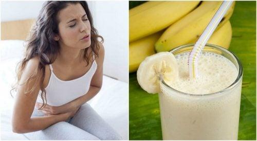 Смузи из картофеля и банана помогает при язве желудка