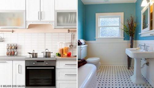 Приятный аромат на кухне и в ванной: откройте для себя эти домашние средства