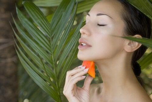 Семена папайи и акне