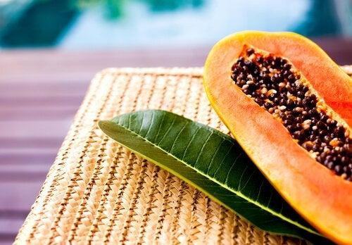 Семена папайи и жир