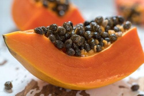 Семена папайи и пищеварение
