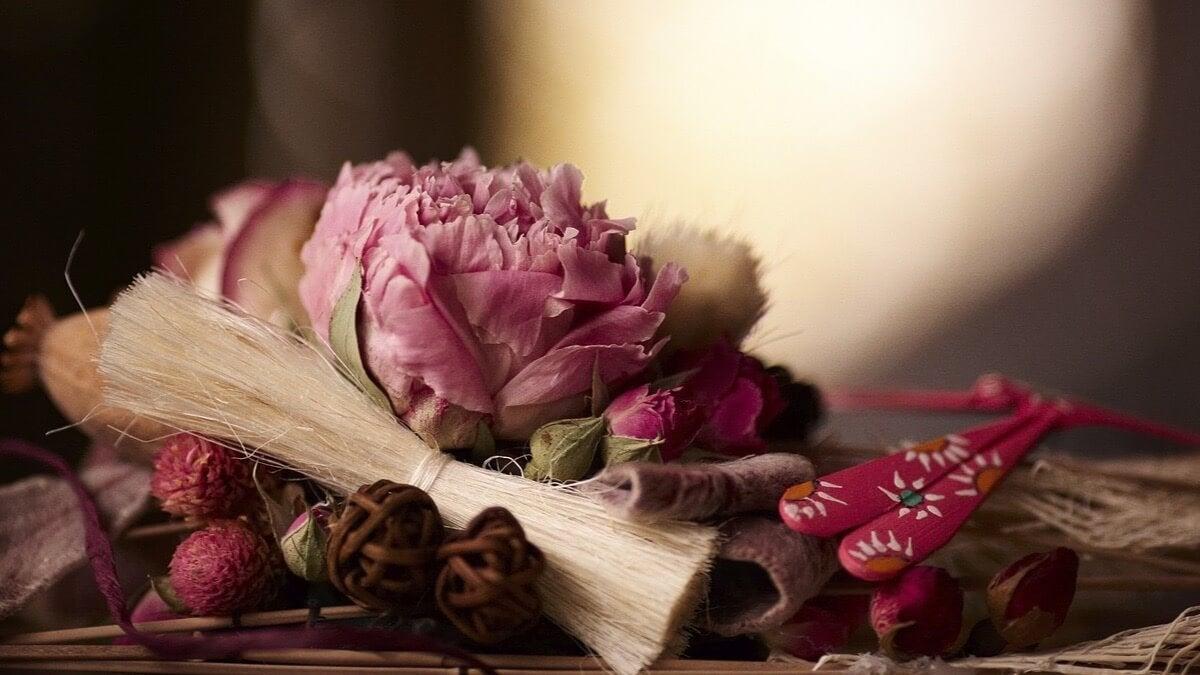 Приятный запах и сухоцветы