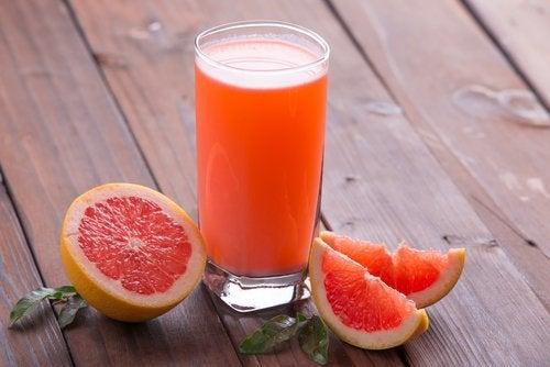Грейпфруты помогут похудеть