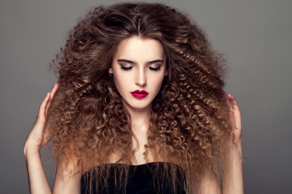 Вьющиеся волосы и естественные кудри