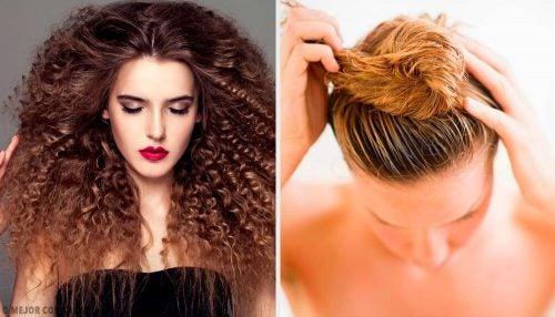 Вьющиеся волосы: 5 идеальных причёсок