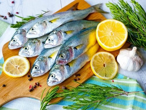 Красная рыба и коллаген