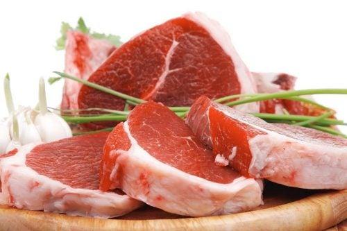 Мясо и повышенный уровень мочевой кислоты в крови