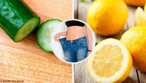 Смузи из огурца, лимона и мяты поможет похудеть