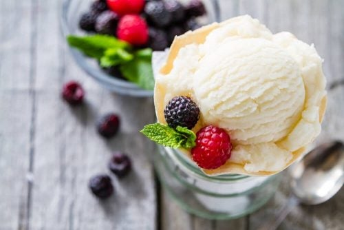 Мороженое и низкокалорийный десерт