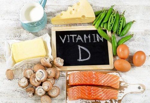 Какие продукты содержат витамин D