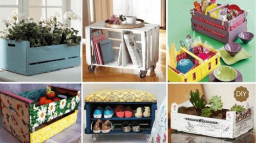 Как декорировать ящик или коробку: 7 интересных способов
