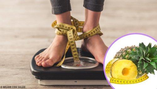 Ананас для борьбы с лишним жиром
