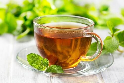 Чай на основе перечной мяты