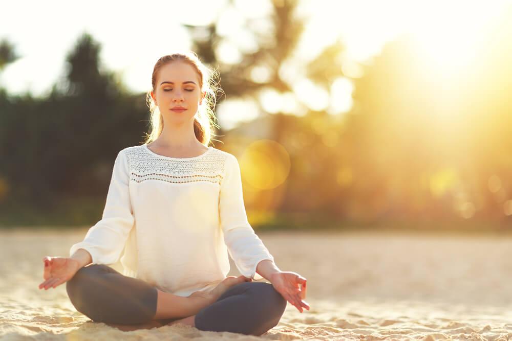 Медитация наполнит позитивной энергией