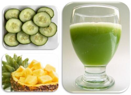 Зеленый коктейль для борьбы с лишним весом