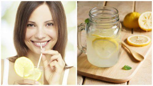Лимонный сок помогает похудеть