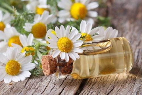 Эфирное масло ромашки помогает при конъюнктивите