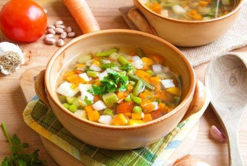 Испанский суп из овощей