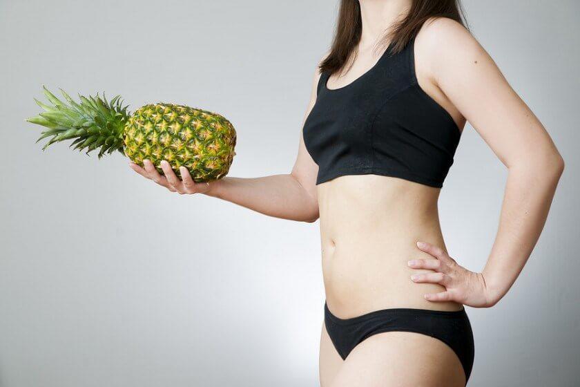 Ананасовая вода помогает похудеть
