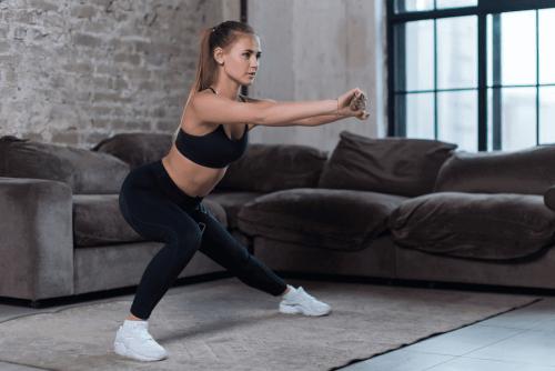 Красивые бедра: лучшие упражнения