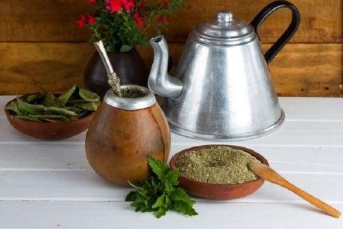 Чай мате поможет похудеть