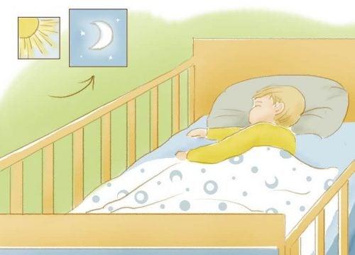 Дети: как научить ребёнка спать всю ночь?