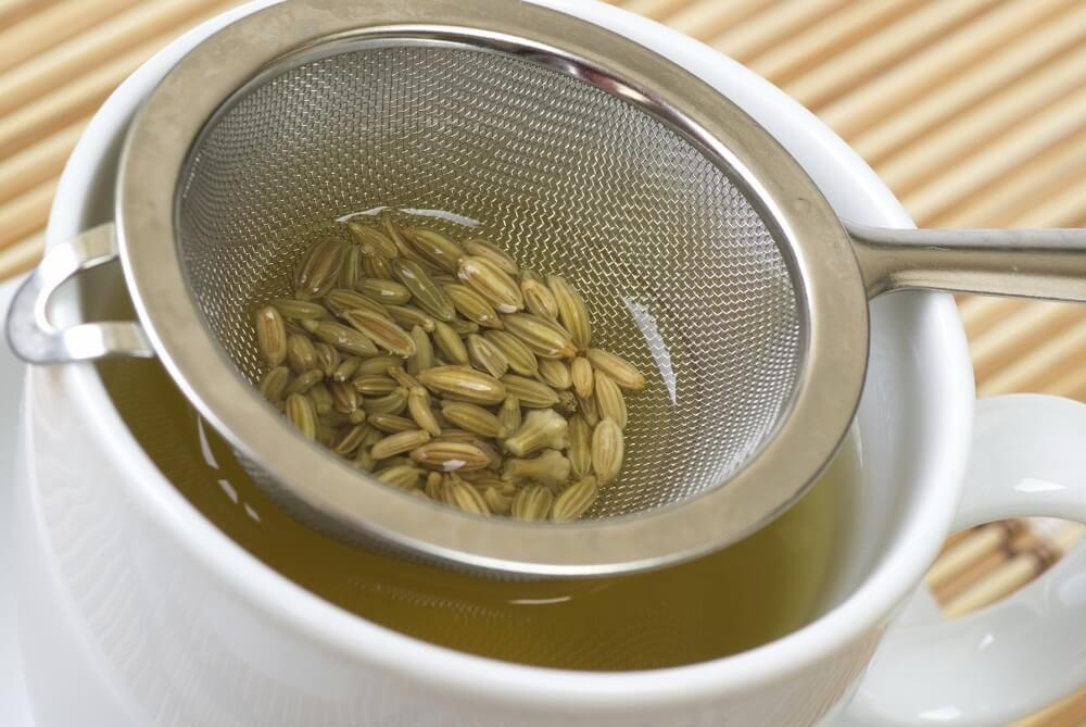 Лечебный чай из фенхеля