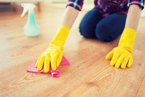 Мыть пол и поддерживать порядок в доме
