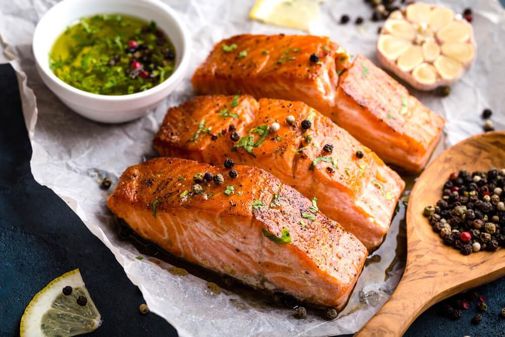 Приготовить рыбу лосось