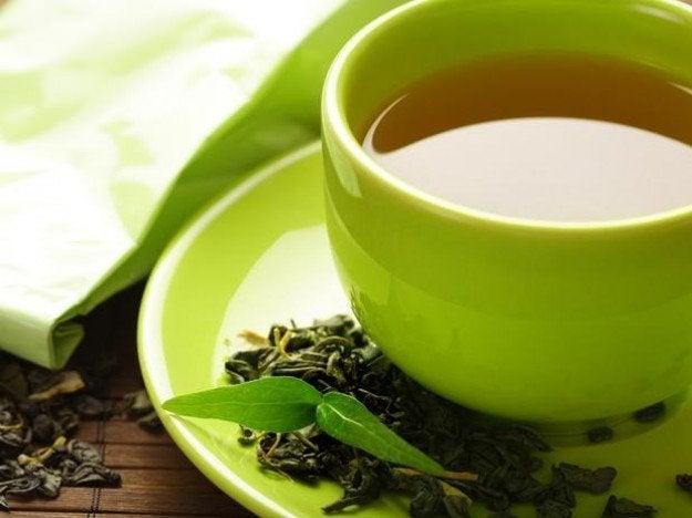 Натуральное мыло из зеленого чая