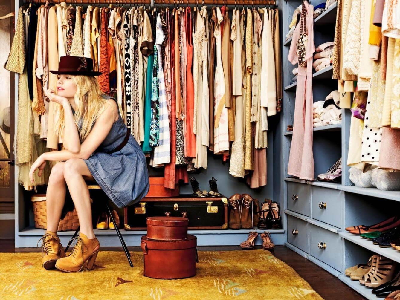 Хранить одежду дома
