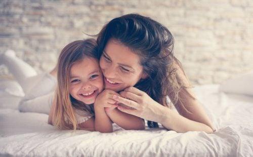 Хорошие отношения с дочерью