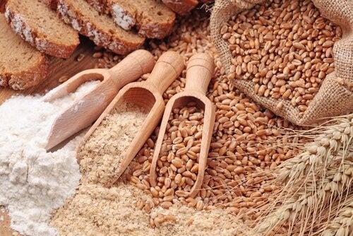Зерна содержат клетчатку