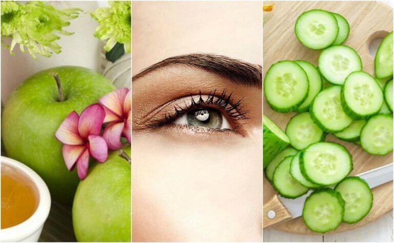 Опущенные веки: 5 натуральных средств для упругости кожи