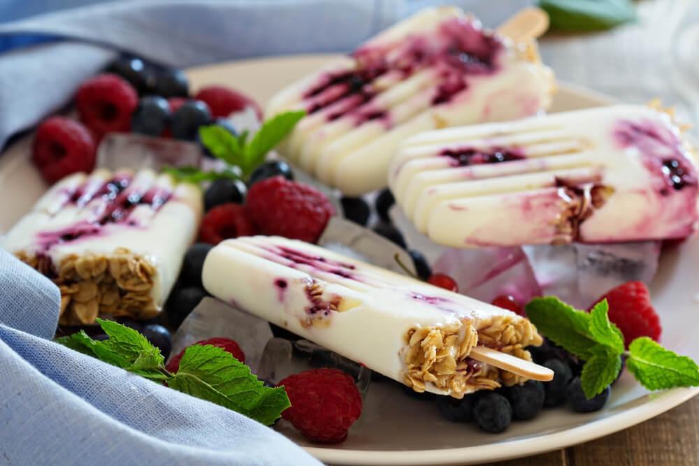 3 способа приготовить замороженный йогурт!