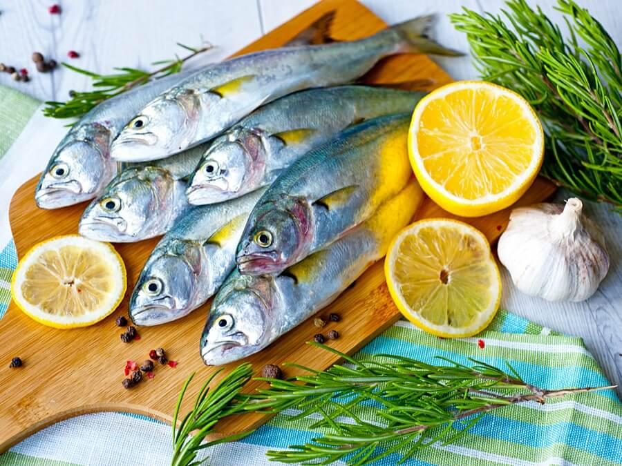 Яблочная диета и рыба