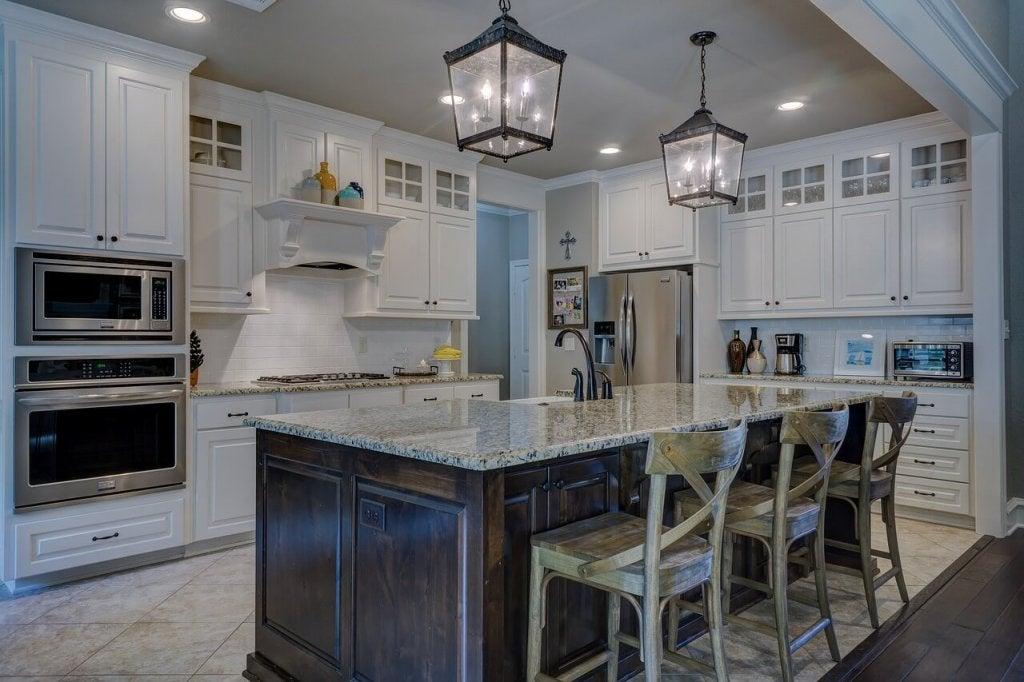 Отчистить от жира кухонную мебель - просто! 5 эко-продуктов.