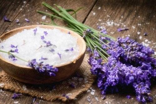 Лаванда устранит неприятный запах матраса