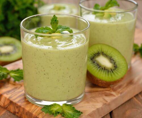 Зеленые смузи из овощей