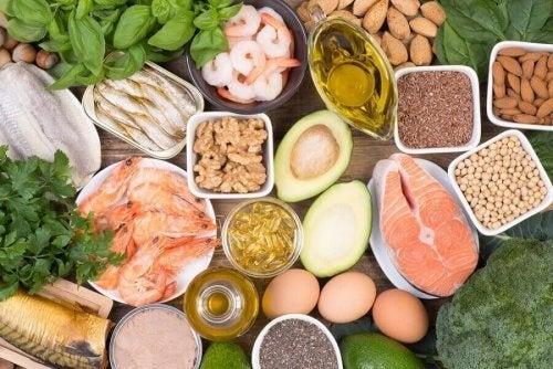 отложение жира и продукты