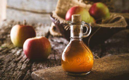 Органическое удобрение и яблочный уксус